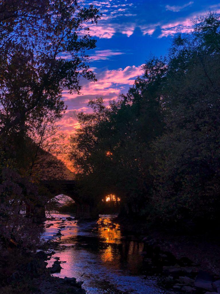 sunset PA
