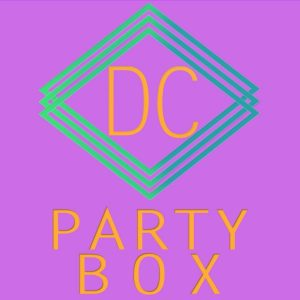 DC party box logo