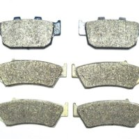 Master Chen Front Rear Brake Pads Brakes for Honda XL 600 650 Transalp XRV 750 FA185F FA140R MC0197-PAD