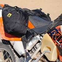 Wolfman E-12 Saddle Bags Black
