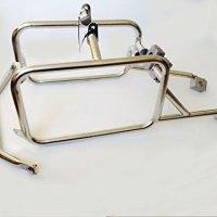 Brooks Pannier system Steel Rack for R1200GS Adventure 2013-15