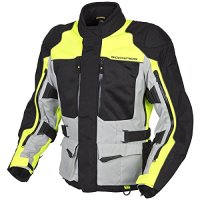 Scorpion XDR Yosemite Motorcycle Adventure Touring Jacket (Hi-Viz, X-Large)