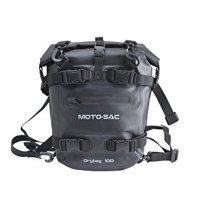 Moto-Sac Motorcycle Universal 10L Tank Rear Dry Bag Black For Kawasaki Z750R