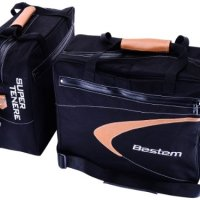 Bestem (LGYA-TENE-SDL-BLK) Black Saddlebag Side Case Liners for Yamaha Super Tenere - Pair