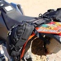 Wolfman Day Tripper Enduro Saddle Bags (Black)