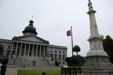 South Carolina State House with Confederate Flag