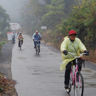 Biking through the Countryside of Yangshuo
