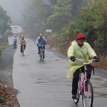 Biking through the Countryside of Yangshuo