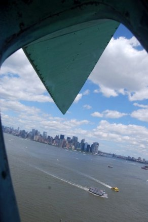Manhattan from the Crown of Liberty