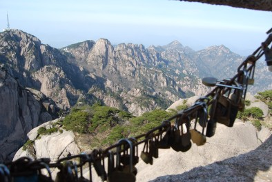 View from the top of Huangshan