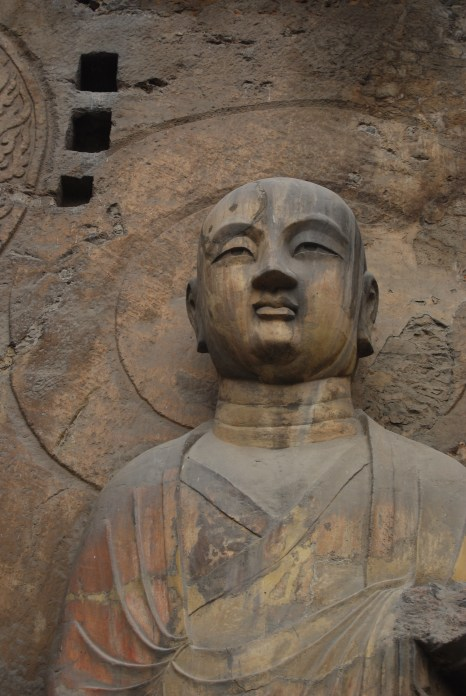 Buddha in Longmen Grottoes - Luoyang