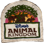 Disney World Animal Kingdom patch