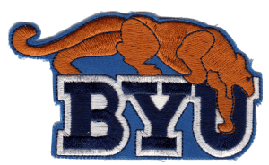BYU Cougar patch