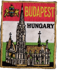 Budapest, Hungary patch