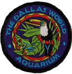 Dallas World Aquarium Toucan patch