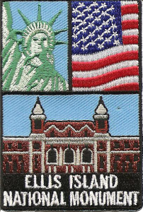 Ellis Island National Monument patch