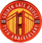 Golden Gate Bridge 75th Anniversary patch