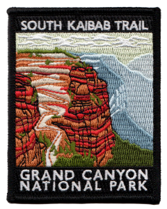 Grand Canyon National Park South Kaibab Trail patch