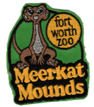 Fort Worth Zoo Meerkat Mounds patch