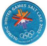 2002 Salt Lake Winter Olympic Games patch