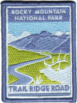 Rocky Mountain NP Trail Ridge Road patch