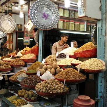 Gandhi and Spices in Delhi