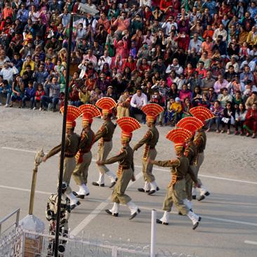 India Pakistan Border Retreat Ceremony