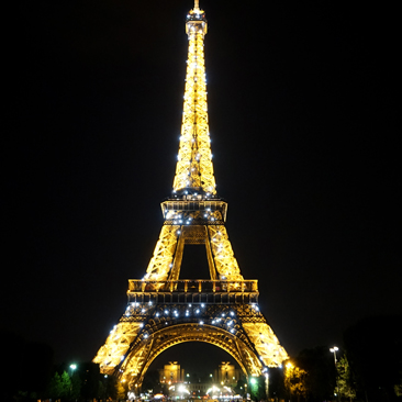 My Midnight in Paris – Eiffel Tower