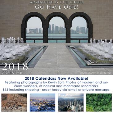 2018 Calendar Available
