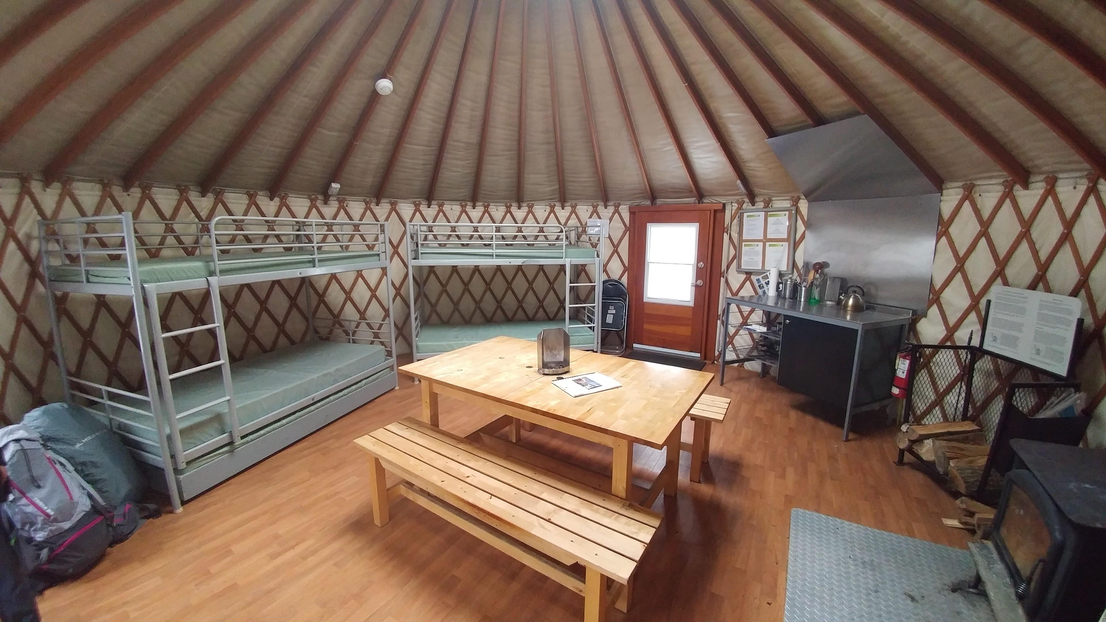 Yurt Camping For Beginners In Gatineau Park Yurting