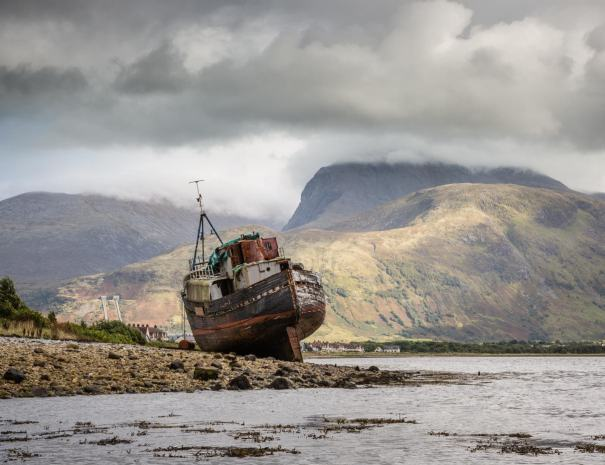 Ben Nevis from Corpach (©Leading Lines)