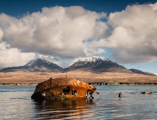 Paps of Jura from Islay (©Leading Lines)