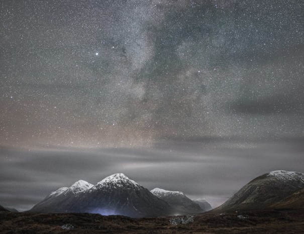 Rannoch Moor and Milky Way (©Leading Lines)