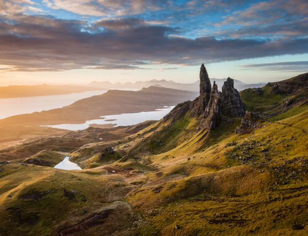 Guided and self-guided walking holidays in Scotland