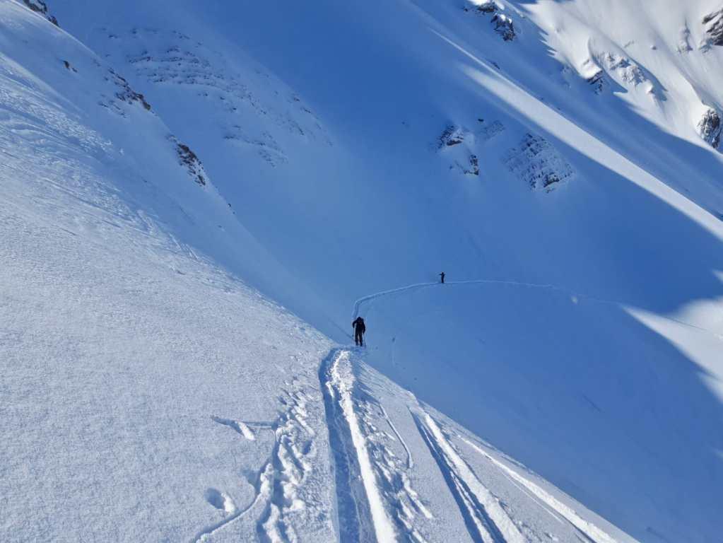 ski touring in scotland
