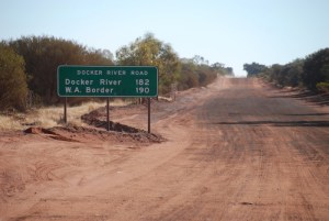 Docker River Road, also known as Tjukaruru Road, part of the Outback Way.