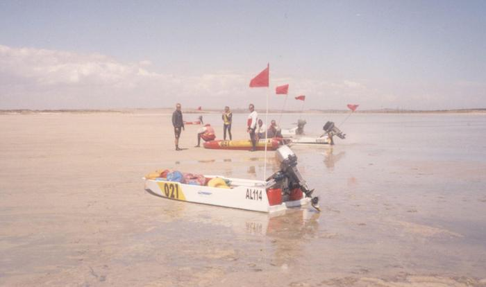 The shallows of The Coorong.
