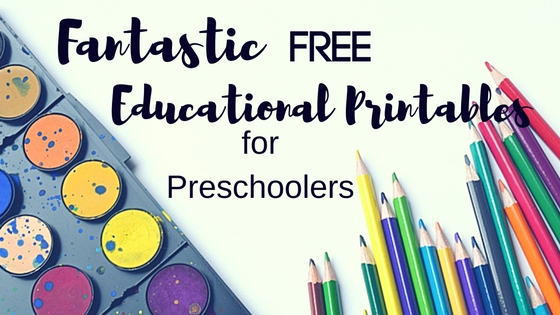Fantastic Free Printables for Preschoolers