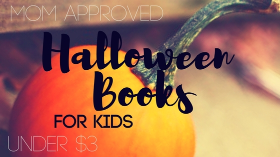 Mom Approved Halloween Books for Kids Under $3