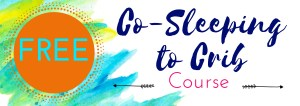 Co-Sleeping to Crib email course