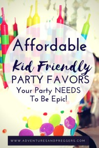 Kid Friendly Party Favors your party needs NOW!- ditch the goodie bags and give the kids a party favor that is not junk. These party favors are affordable and what your party needs to be epic. Click here to read NOW!