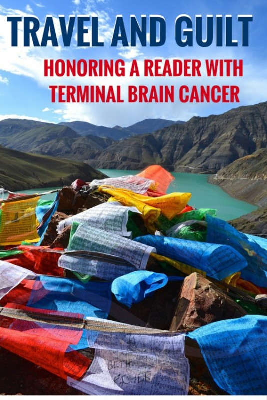 travel and guilt: the story of a woman with terminal brain cancer