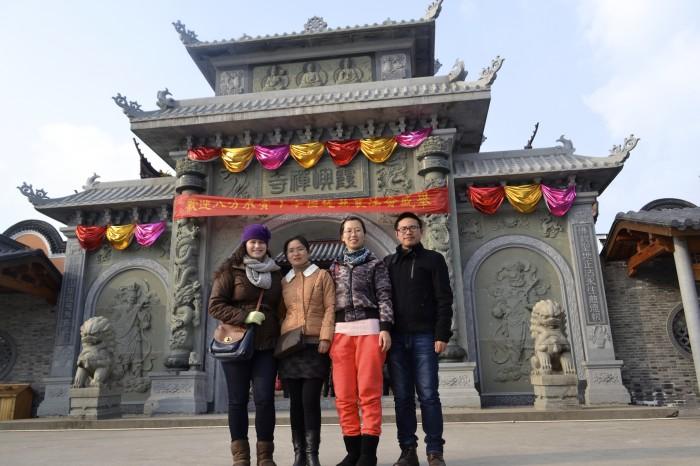 Dongqian Lake temple