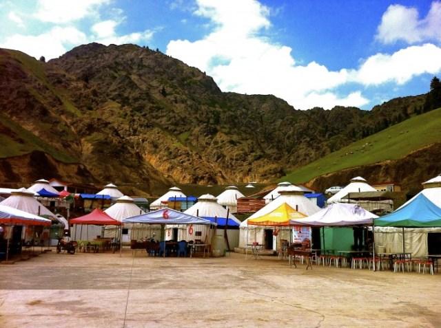 Heavenly Mountains Xinjiang