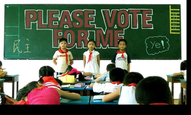 """""""Please Vote for Me"""": Democracy in China"""