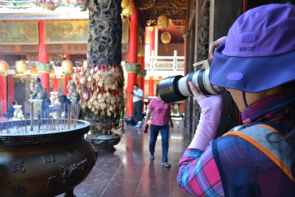 Photographers at Matzu temple