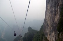Zhangjiajie cable car