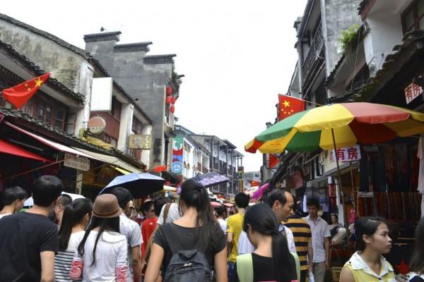 Yangshuo crowd