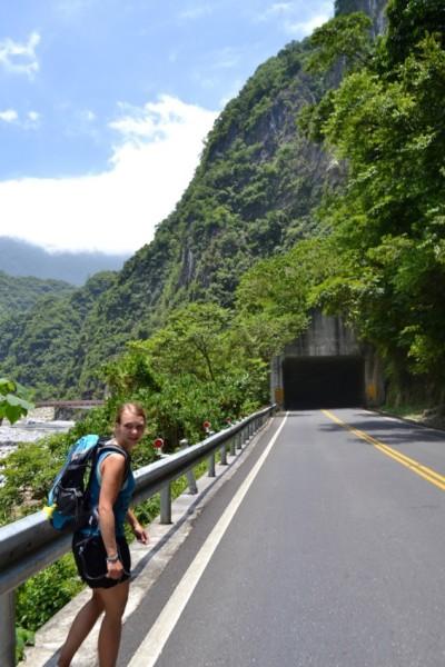 Hiking Taroko Gorge