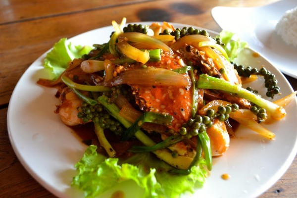 Kep crab Kampot pepper